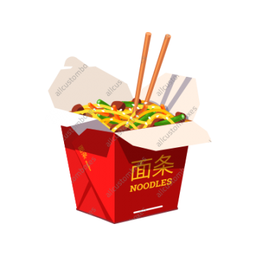Custom Chinese Food Boxes UK-1
