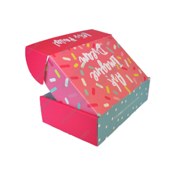 Custom Four Corner Cake Boxes UK-1