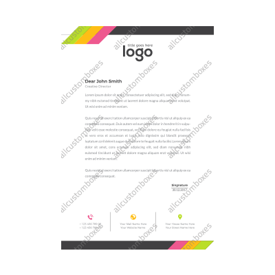 Custom Letterhead UK-4